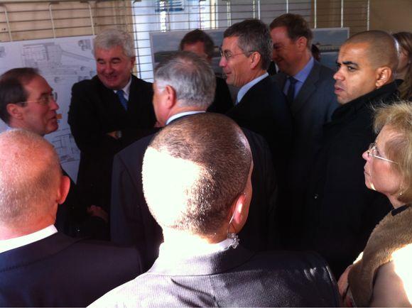 Lancement du projet Commissariat au Raincy avec Claude GUÉANT