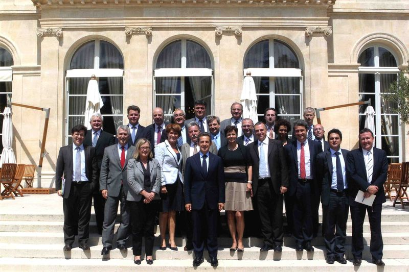 Photo de groupe Député relais