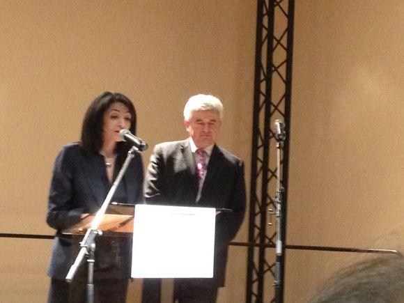 Jeannette Bougrab inaugure le PIJ du Raincy
